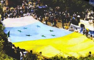 Bandera de los independentistas canarios