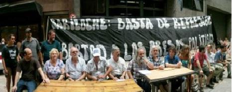 conferencia de prensa en Secretaria DDHH de la Nacion x Presos Politicos de Bariloche