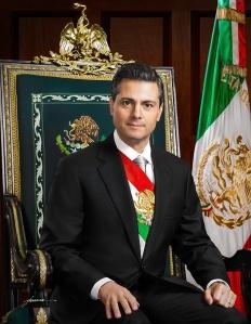 Lic. Enrique Peña Nieto Presidente Constitucional de los Estados Unidos Mexicanos 2012-2018. Foto Oficial