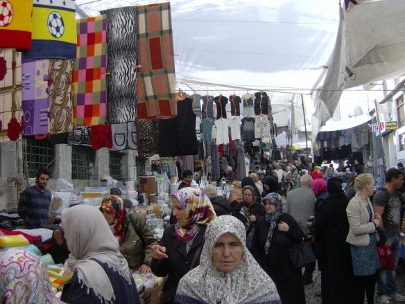 El Gran Bazar (Kapalıçarşı en turco) de Estambul (Turquía) es el mayor bazar de la ciudad y uno de los bazares más grandes del mundo. Foto: Carlos M. Estefanía