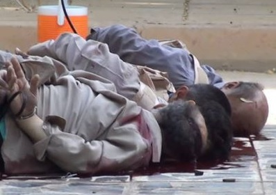Primeras imágenes de la masacre