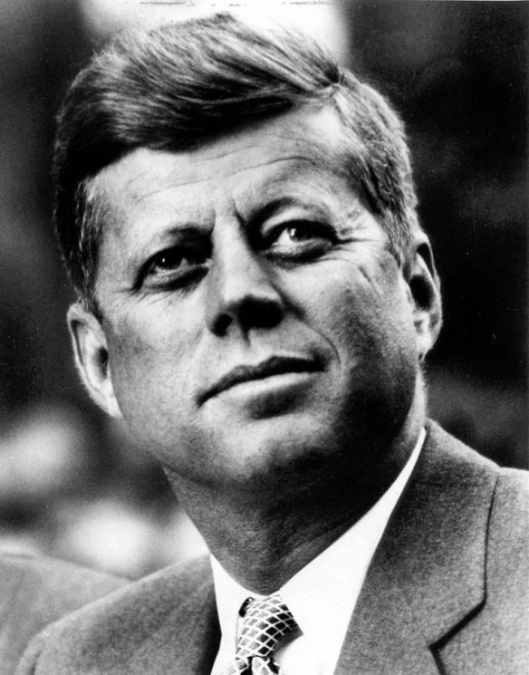 """Presidente John Fitzgerald Kennedy, 1961-1963. Foto: cortesía de La  """"John Fitzgerald Kennedy Library, Boston"""""""