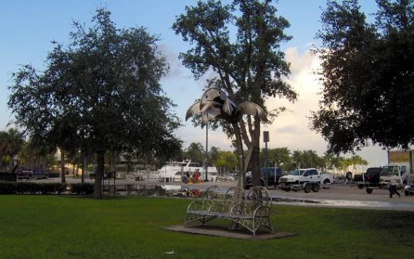 Parque en Miami. Foto: Carlos M. Estefanía