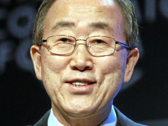 Sr. Ban Ki-mon, Secretario General de Naciones Unidas