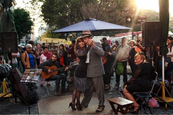 Espectáculo argentino. Foto. Klaus Balzano