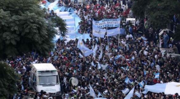 MARCHA DE LAS CGT Y  SECTORES SOCIALES DEL 14 de MAYO