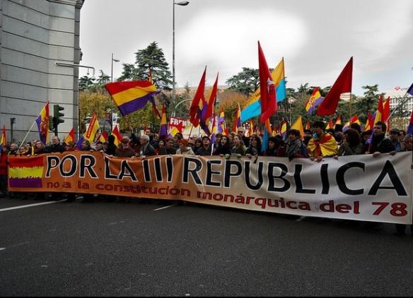 España: ¿Hacia la III República? Foto: Popicinio
