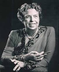 La Sra. Eleanor Roosevelt.
