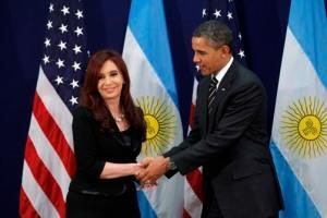 """Se acabó la """"buena onda"""" entre Cristina y Obama, que ni siquiera replica las acusaciones de la presidente. Foto: Embajada de USA en Argentina."""