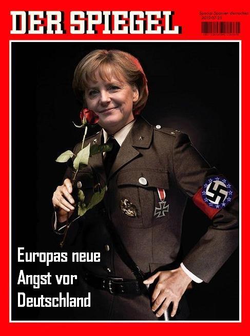 Angela Merkel Nazi